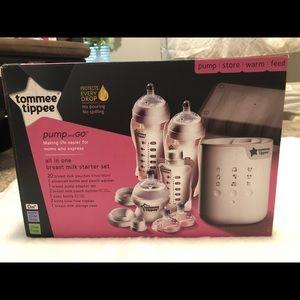Tommee tippee breastfeeding kit! Never used!